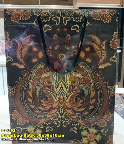 Paperbag Batik 30x38x10cm