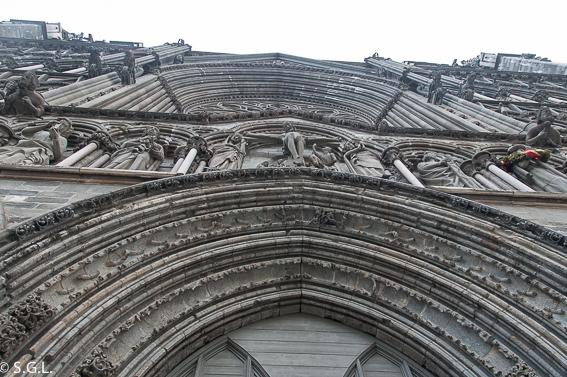 Detalle de Catedral de Nidaros, en Trodemheim. Noruega
