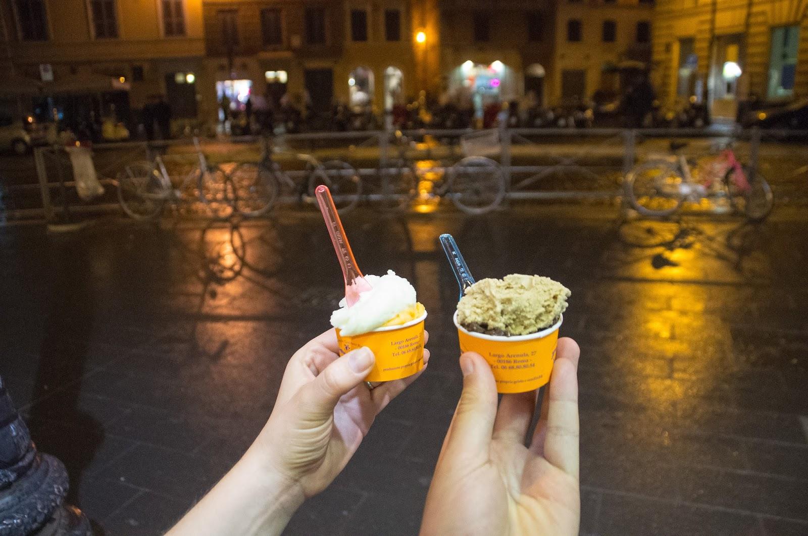 Gelato in Rome on Secret Food Tour