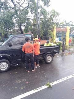 TRC Jember  Langsung Tangani Bencana