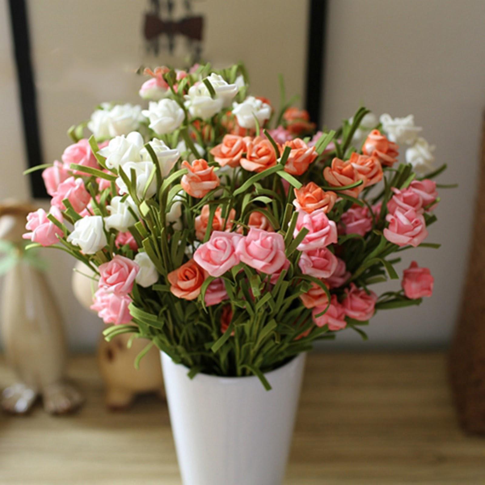Bunga Hias Dalam Pot Modern