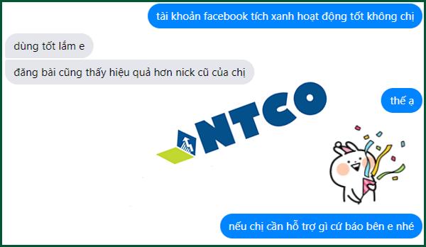mua facebook tích xanh
