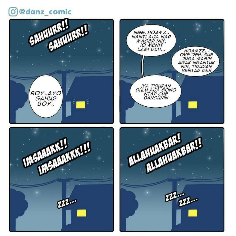 10 Komik Lucu Bulan Puasa Ini Lika Likunya Bikin Ngakak