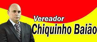 CLIQUE E ACESSE A FANPAGE DO VEREADOR CHIQUINHO BAIÃO
