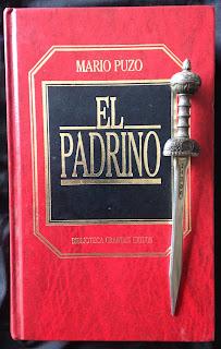 Portada del libro El padrino, de Mario Puzo