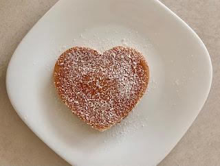 Pancake a forma di cuore