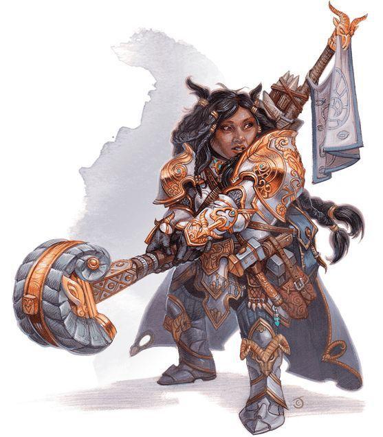 Introducción a las clases de Dungeons & Dragons - El Clérigo - Dominio Forja