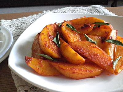 Baked Potato Wedges Recipe @ treatntrick.blogspot.com