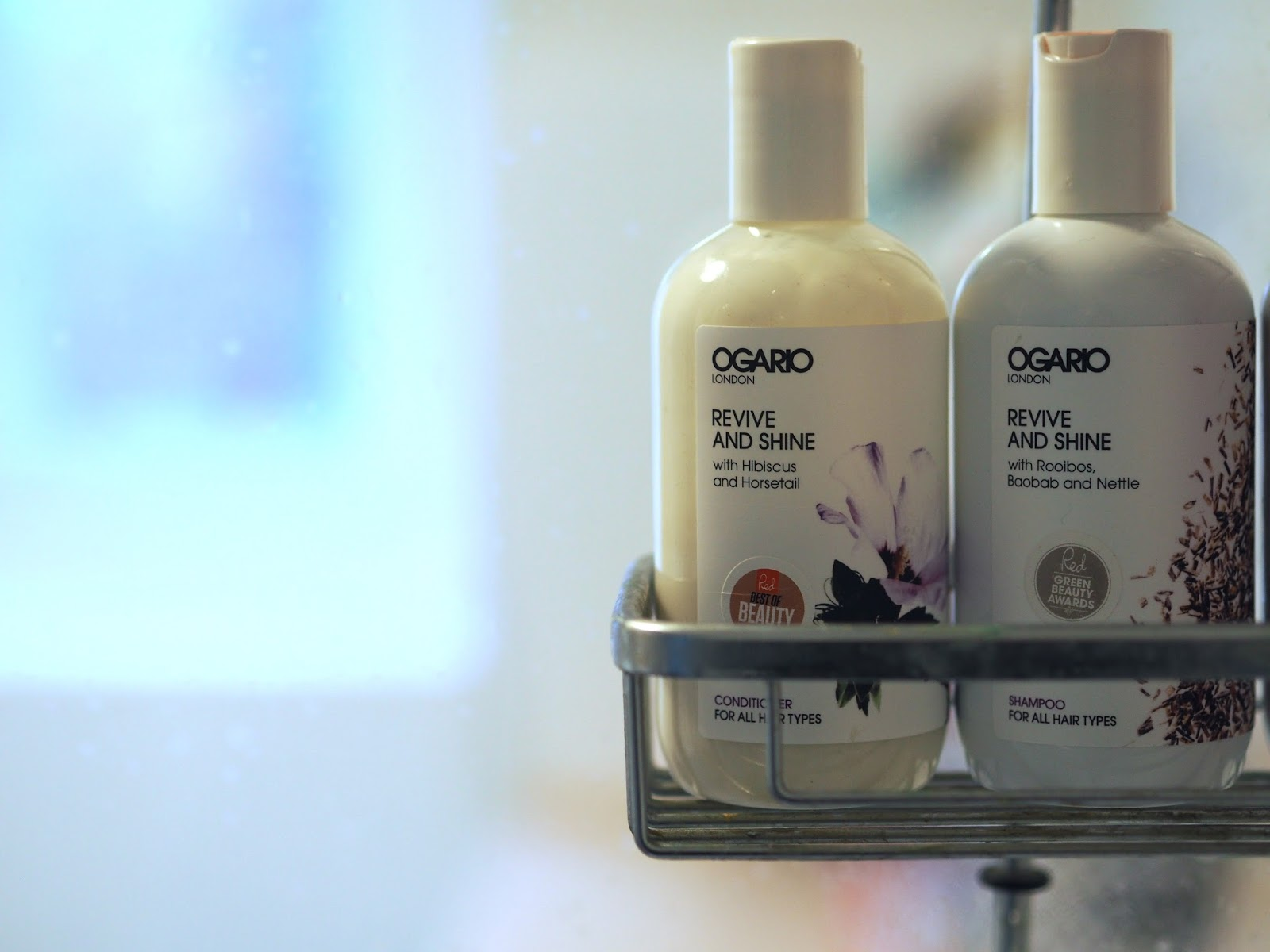 Ogario Revive and Shine Shampoo and Conditioner