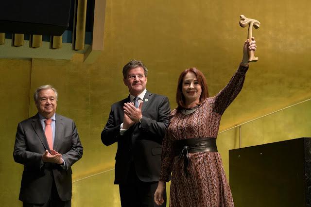 Menteri Luar Negeri Ekuador, María Fernanda Terpilih Sebagai Presiden Majelis Umum PBB ke-73