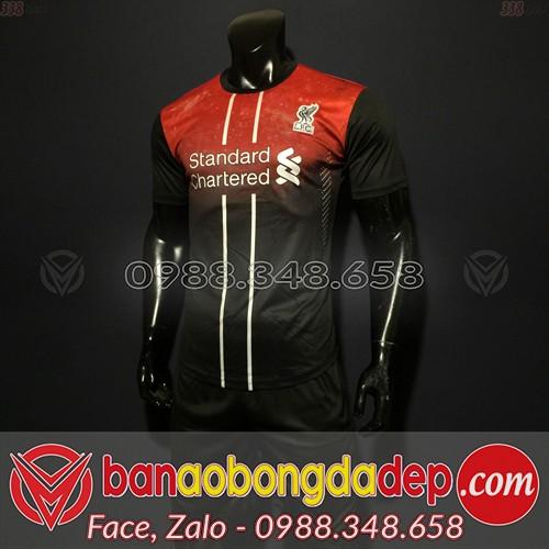 Áo Liverpool Đỏ Đen 2020 Training 12