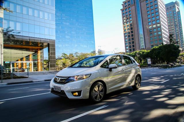 Honda mostra o Fit 2017 no Salão do Automóvel de São Paulo