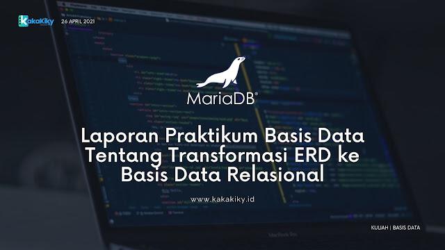 laporan praktikum basis data