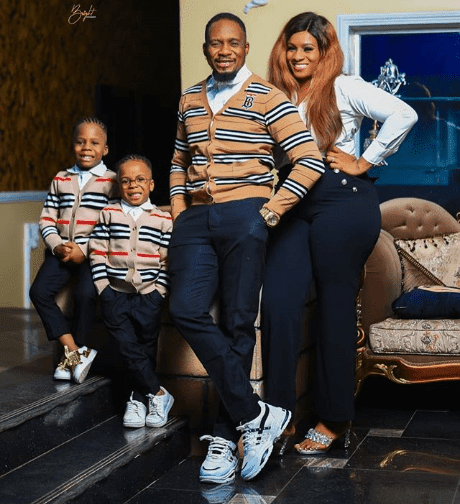 Actor, Junior Pope and his family escape death as fire guts his home (Video)