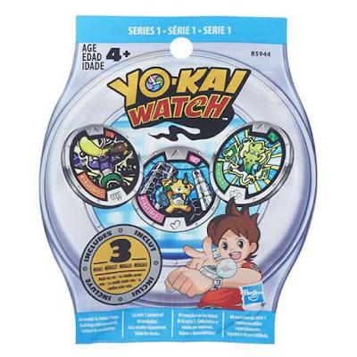 JUGUETES - YO-KAI WATCH Sobres sorpresa medallas Hasbro 2016 | YOKAI | Producto Oficial | A partir de 4 años Coleccionalas | Comprar en Amazon España