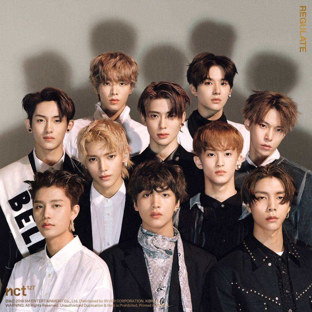 NCT 127 – NCT #127 Regulate – The 1st Album Repackage