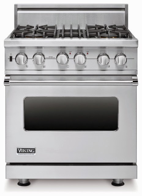 Viking Appliances : Viking RDSCG2305BSS 30-Inch Gas Self-Cleaning Range, Stainless Steel