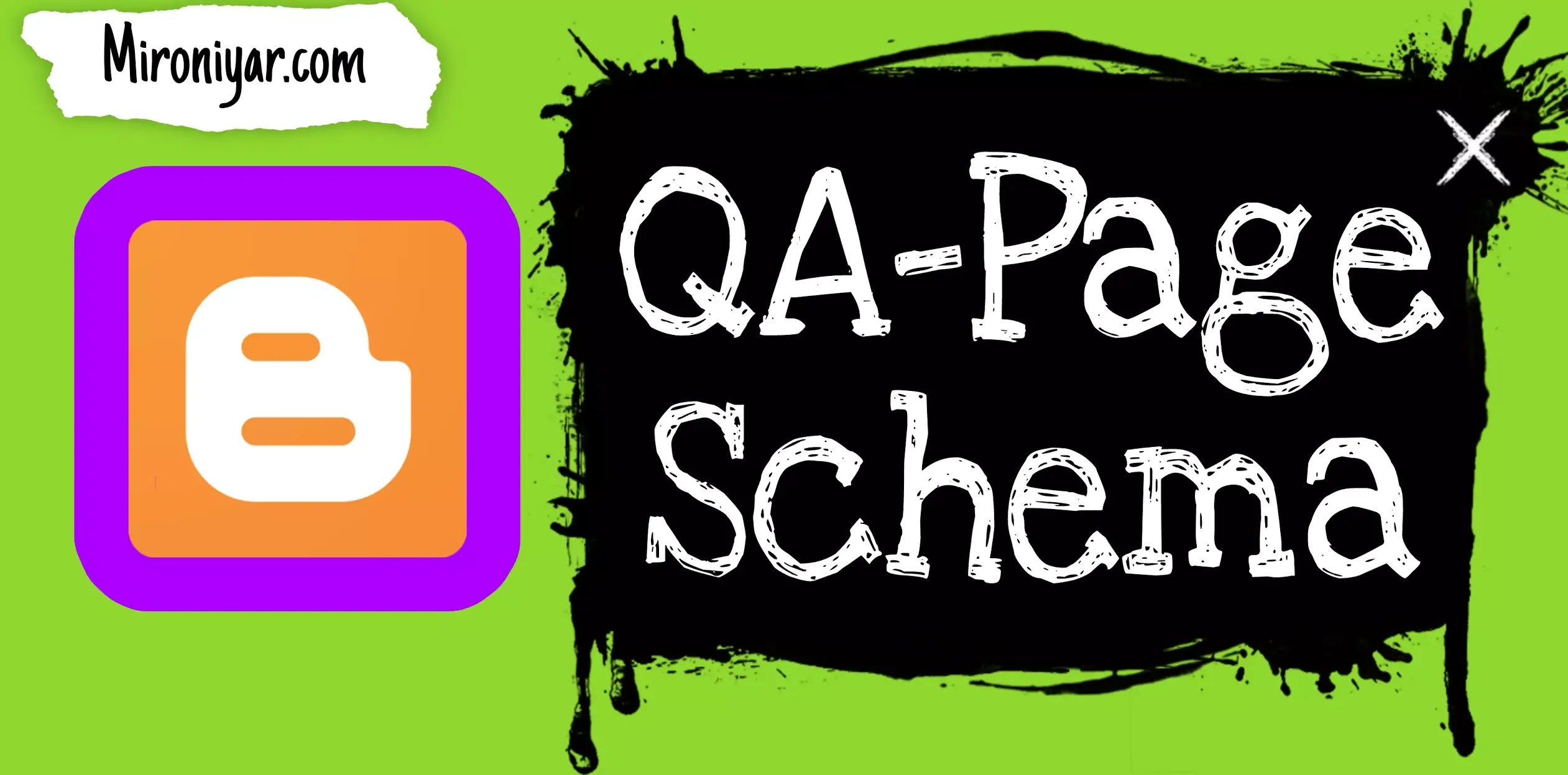 How to Add QA-Page Schema Manually in Blogger