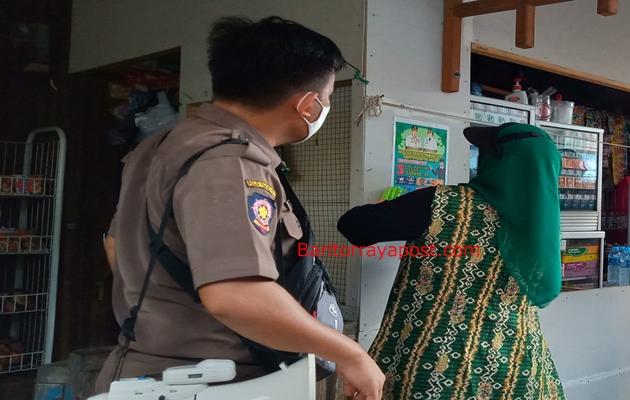 Gugus Tugas Covid-19 Pulpis Ajak Masyarakat Desa Kanamit Patuhi Protokol Kesehatan