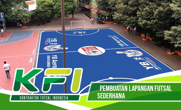 Pembuatan Lapangan Futsal Sederhana