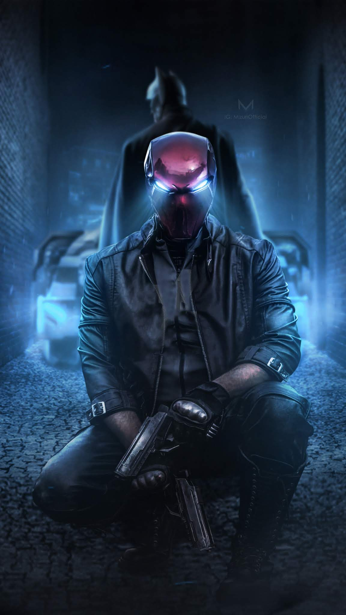 Red Hood And Batman 2019 1440x2560 Mobile Wallpaper - HD ...