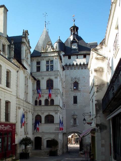 Porte Picois, Loches, Indre et Loire, France. Photo by Loire Valley Time Travel.