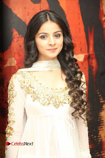 Telugu Actress Mahima Makwana Stills in White Desginer Dress at Venkatapuram Movie Logo Launch  0103.JPG