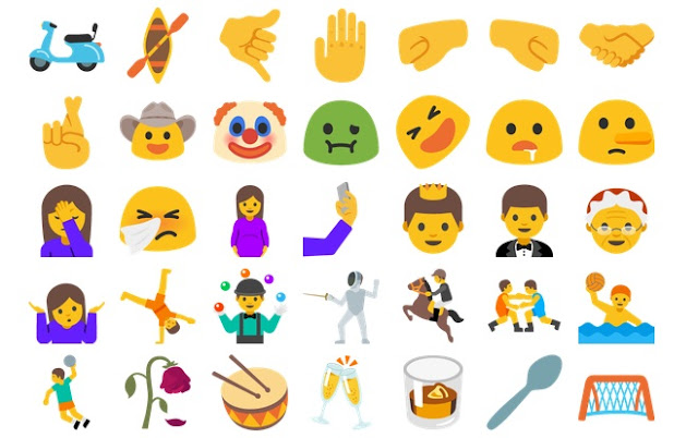 For the First time Android Supports More Emoji Than iOS : Find the Full List of New Emojis