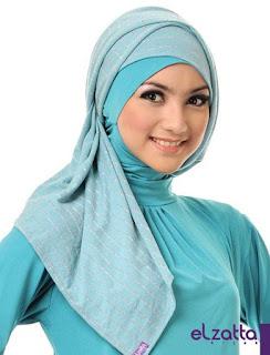 Model Jilbab el Zatta Yang Lagi Trend 2019