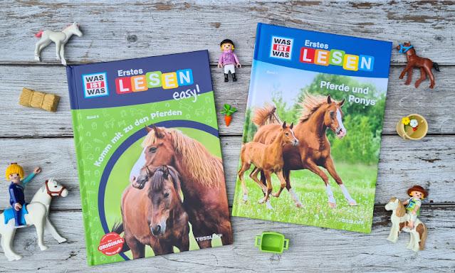 WAS IST WAS Erstes Lesen: Spannende Sachbücher für Leseanfänger. Pferde und Ponys sind für Mädchen wie Jungen interessant, die Bücher sind für Kinder ab der ersten Klasse und Anfänger im Lesen gedacht.