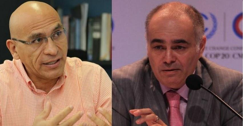Waldo Mendoza y Gabriel Quijandría entre los voceados para ser ministros de Economía y Ambiente