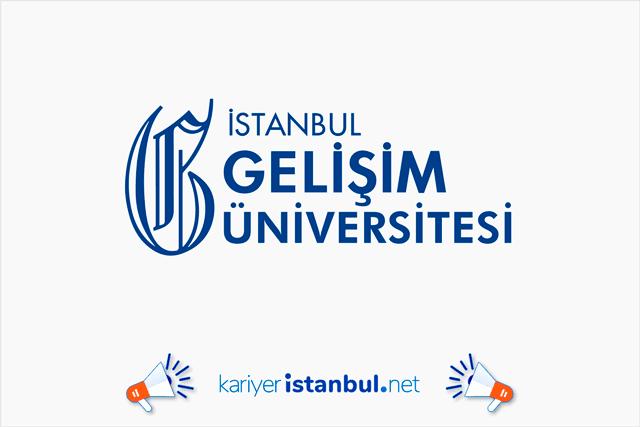 İstanbul Gelişim Üniversitesi 61 araştırma görevlisi alımı yapacak. Detaylar kariyeristanbul.net'te!