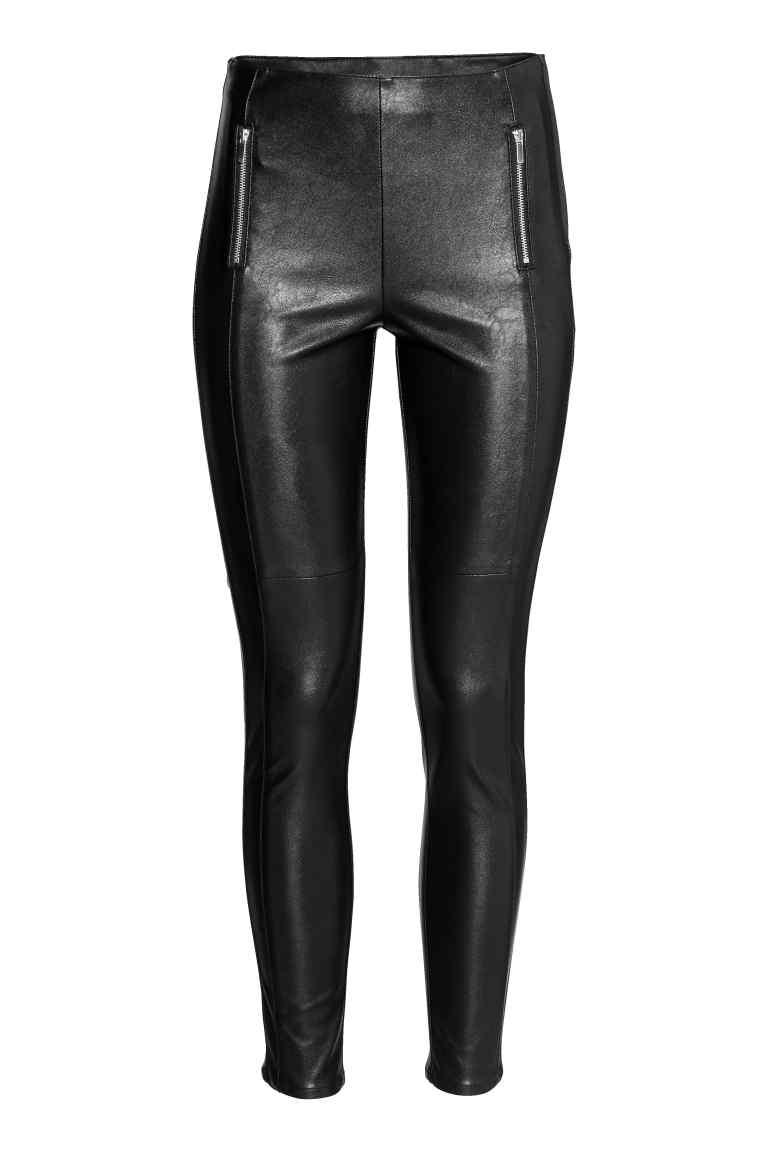 5 super leggings en similicuir à moins de 40$