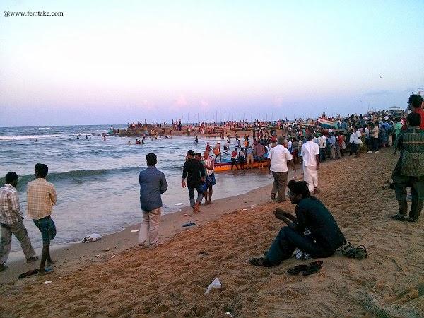 Chennai Kovalam beach
