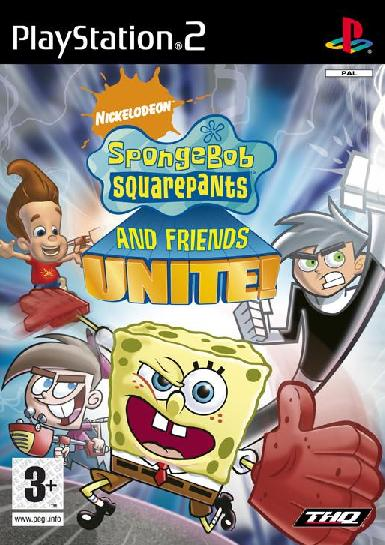 bob esponja - Spongebob Squarepants And Friends Unite | PS2