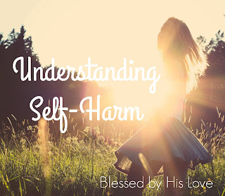 Understanding self-harm and finding hope in God's peace.