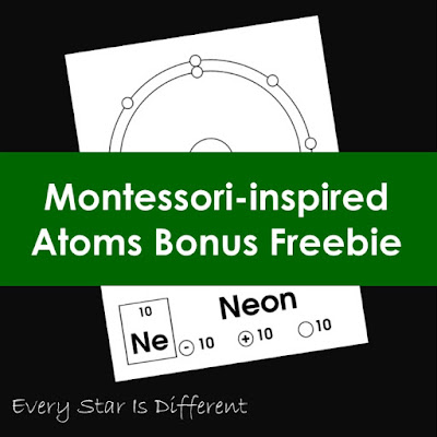 Montessori-inspired Atoms Bonus Freebie