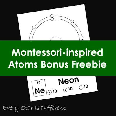Montessori-inspired Atoms Bonus Freebie