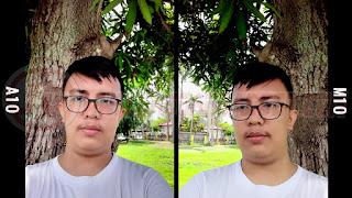 Hasil Kamera Depan Samsung Galaxy A10 dan M10