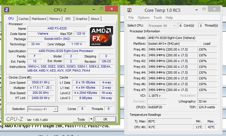 The Fx 8320 My Journey Into Under Volting An 8 Core Cpu Ron S Tech Tips