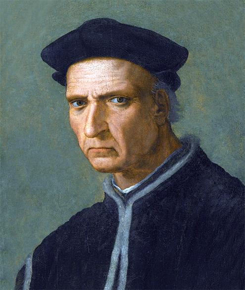 Retrato de Piero Soderini, Renacimiento, por Ridolfo del Ghirlandaio, Óleo sobre lienzo