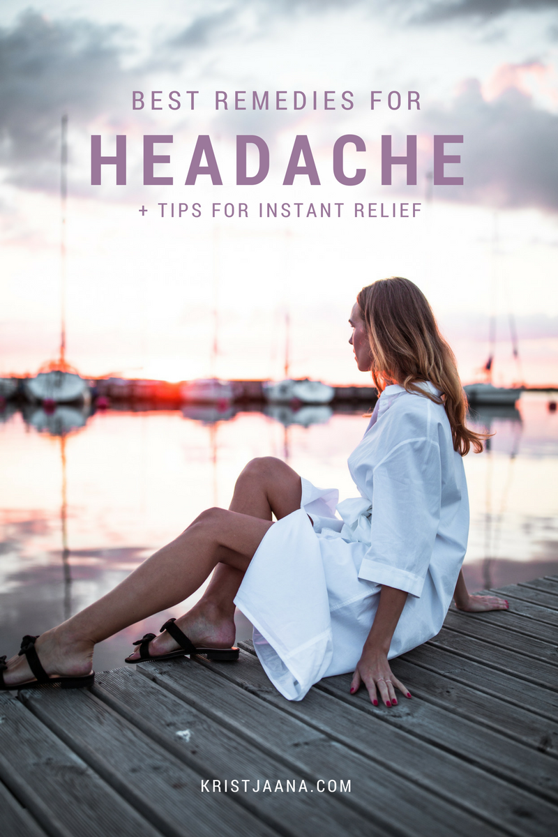 how to get rid of headache with home remedies