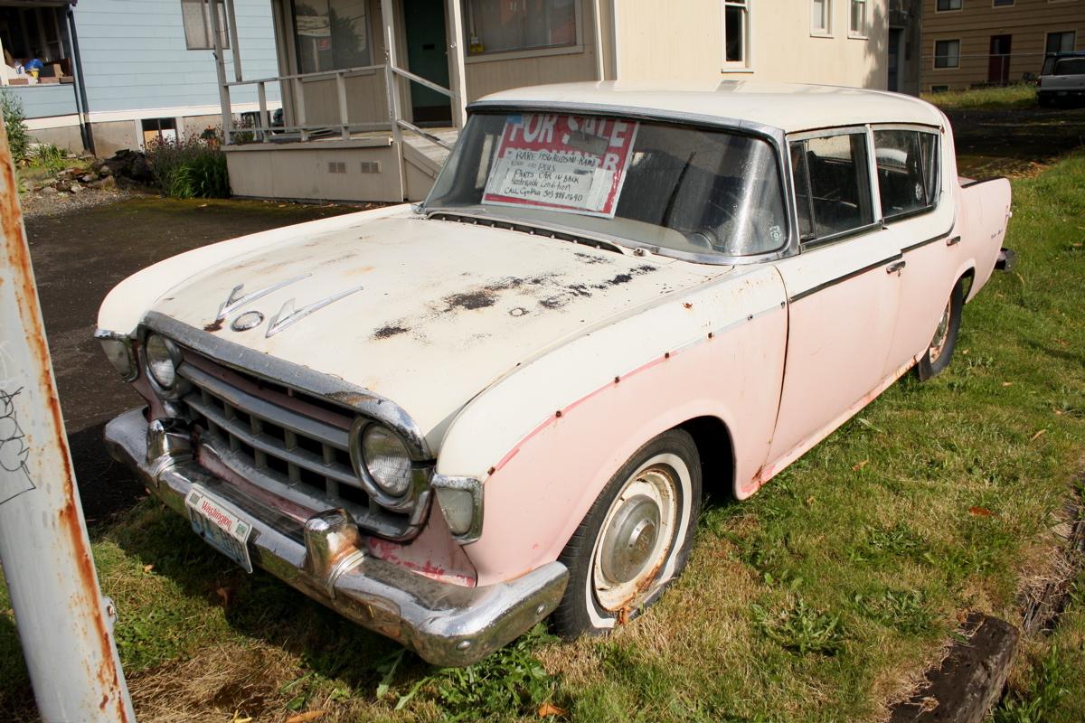 Old Parked Cars Ramblers Revisited 1956 Nash Hudson