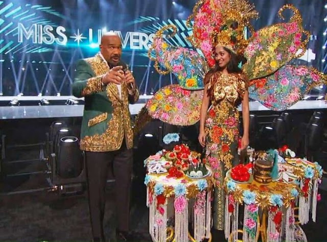 Steve Harvey I didn't Actually Announce the wrong National Costume Winner
