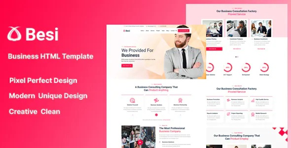 Download Business and Agency HTML Template