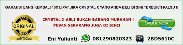 cara mengobati kista dengan crystal x