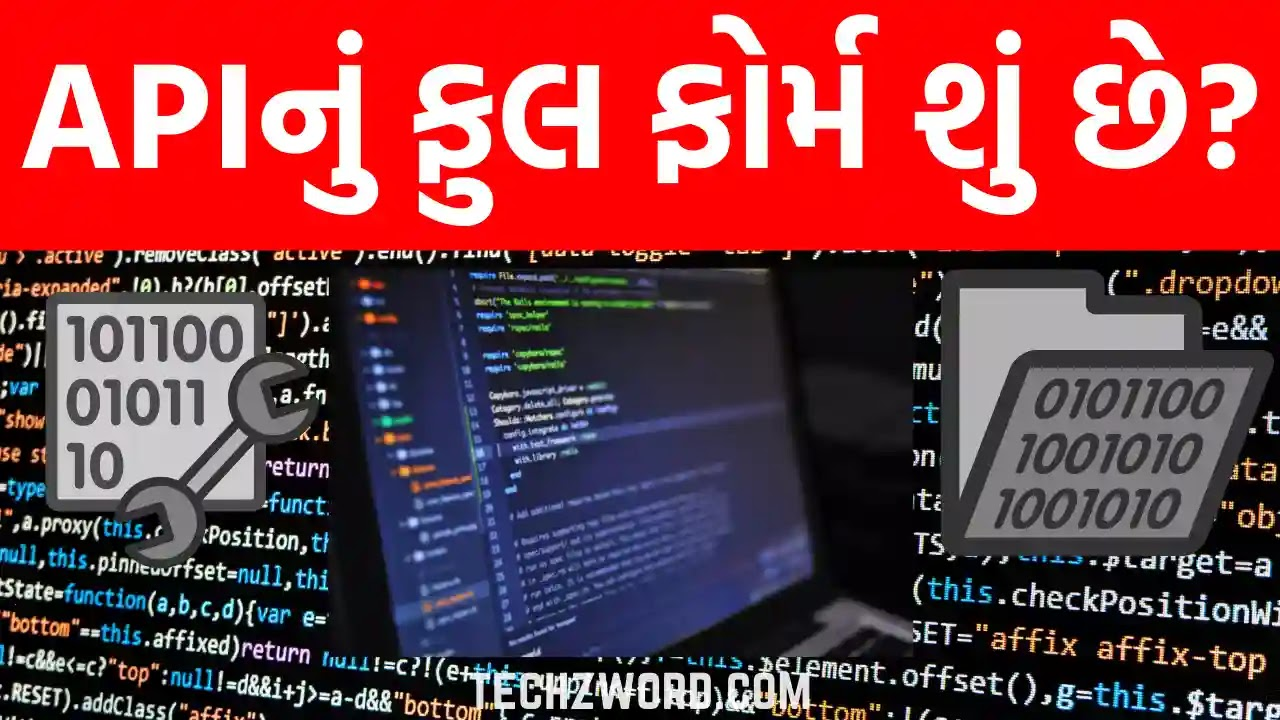 what is full form of API in Gujarati?