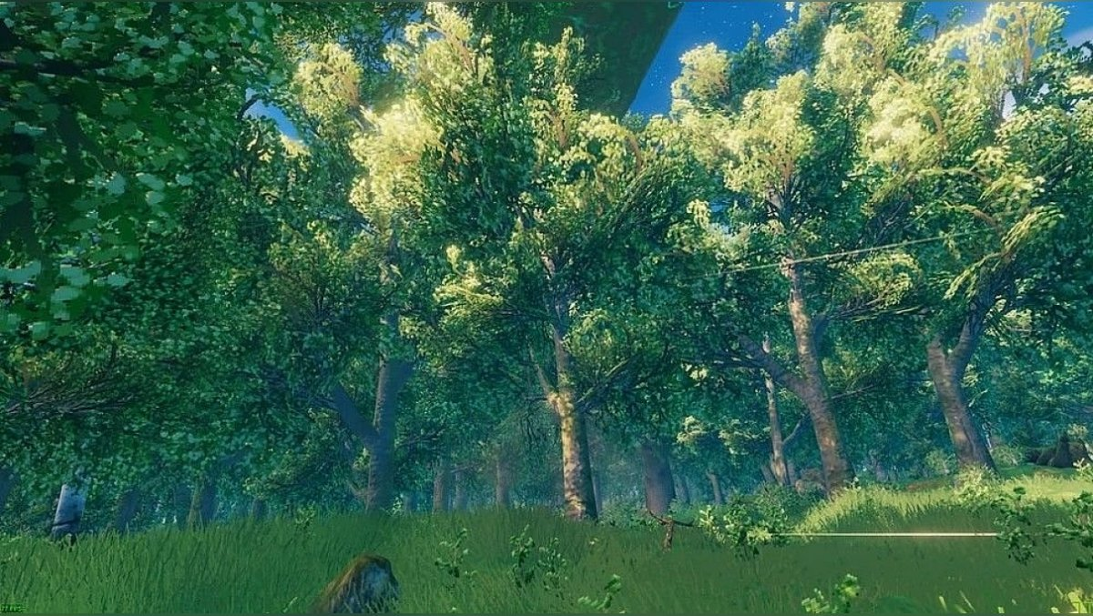 How to cut birch, pine, oak and other trees in Valheim