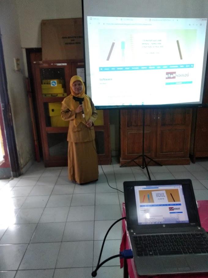 Pelatihan Blog Untuk Guru