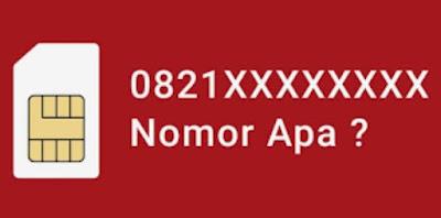0821 Nomor Kartu Apa
